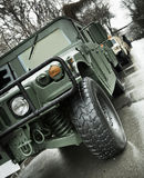 Humvee Fotos de Stock Royalty Free