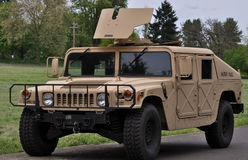 Humvee. A military police High Mobility Multipurpose Wheeled Vehicle better known as the Humvee being used in a national guard exercise in Eugene Or Royalty Free Stock Images