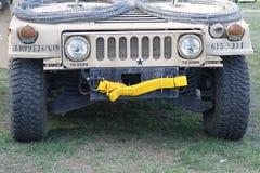 Humvee - forças armadas Hummer dos E.U. Fotos de Stock