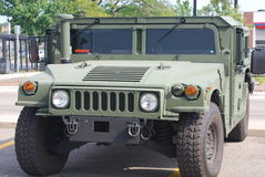 Humvee or Hummer Royalty Free Stock Photo
