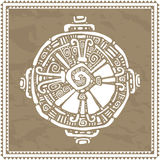 Hunab Ku.  Mayan symbol. Vector illustration Royalty Free Stock Photos