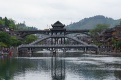 Hunan Fenghuang ancient city of Tuojiang scenery Royalty Free Stock Images