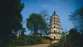 Hunan Hengyang Κίνα Zhuhui πύργος Στοκ Φωτογραφία