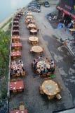 Hunan Huaihua, China: Restaurant landscape Stock Photos