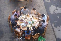 Hunan Huaihua, China: Restaurant landscape Royalty Free Stock Images