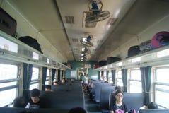 Hunan Huaihua, China: take the train Royalty Free Stock Photo