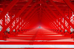 Hunan Xiangxi Aizhai Bridge Stock Image