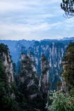 Hunan Zhangjiajie lasu państwowego park starego domu pola ` zgromadzenia magiczny ` osiąga szczyt Zdjęcia Royalty Free