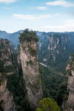 Hunan Zhangjiajie lasu państwowego park starego domu pola ` zgromadzenia magiczny ` osiąga szczyt Obraz Royalty Free
