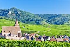Hunawihr, Alsácia Imagem de Stock