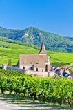 Hunawihr, Alsácia Imagem de Stock Royalty Free