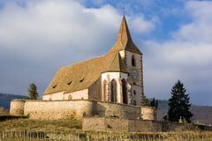 Hunawihr, Alsace Royalty Free Stock Photography