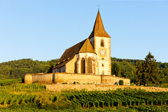 Hunawihr, Alsace, France Stock Photo