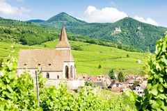 Hunawihr, Alsace, France Royalty Free Stock Image