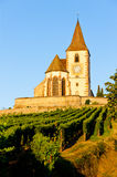 Hunawihr, Alsace, France Stock Photography