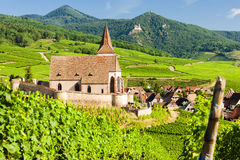 Hunawihr, Alsace, France Royalty Free Stock Photos