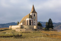 Hunawihr, Alsacia Imagenes de archivo