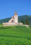 Hunawihr, Alsacia, Francia Imagen de archivo libre de regalías