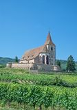 Hunawihr, Alsacia, Francia Imagen de archivo