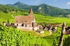 Hunawihr, Alsacia, Francia Fotos de archivo libres de regalías