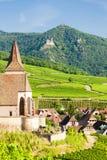 Hunawihr, Alsacia, Francia Fotografía de archivo