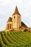 Hunawihr, Alsácia Foto de Stock Royalty Free