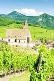 Hunawihr, l'Alsazia, Francia Immagine Stock