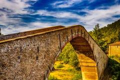 Hunchback bridge Royalty Free Stock Photo