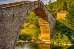 Hunchback bridge Stock Photos