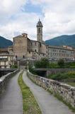 Hunchback Bridge. Bobbio. Emilia-Romagna. Italy. Stock Image