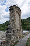 Hunchback Bridge. Bobbio. Emilia-Romagna. Italy. Royalty Free Stock Photos