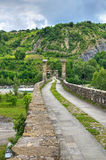 Hunchback Bridge. Bobbio. Emilia-Romagna. Italy. Royalty Free Stock Photo