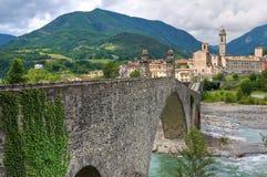 Hunchback Bridge. Bobbio. Emilia-Romagna. Italy. Royalty Free Stock Image