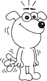 Hund glücklich Lizenzfreie Stockbilder