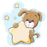 Hund mit Stern vektor abbildung
