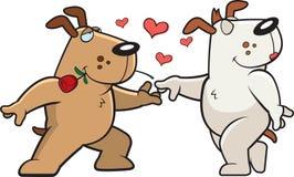 Hund Romance Lizenzfreies Stockfoto