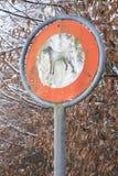 Hund-walkies feindlich Stockbilder