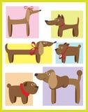 Hunde lizenzfreie abbildung