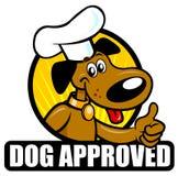 Hundeanerkannte Dichtung stock abbildung
