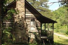 Hundeflecken USA - altes Haus Lizenzfreie Stockbilder