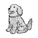 Hundegekritzel Lizenzfreie Stockbilder
