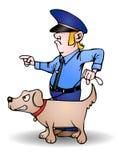 Hundegruppe vektor abbildung
