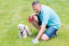 Hundeheck aufheben stockbilder