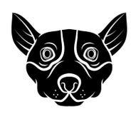 Hundekopf vektor abbildung