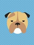 hunden eps formaterar illustrationjpg Arkivbild
