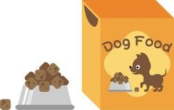 Hundenahrung lizenzfreie abbildung