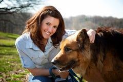 Hundepark Lizenzfreies Stockbild