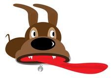 hundeps-överrrakning vektor illustrationer