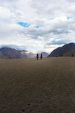 Hunder Sand Dunes of Nubra Valley Royalty Free Stock Photography