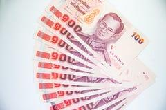 Hundert Baht Lizenzfreie Stockfotos